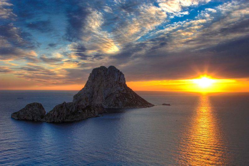 Ibiza Sunset Spain