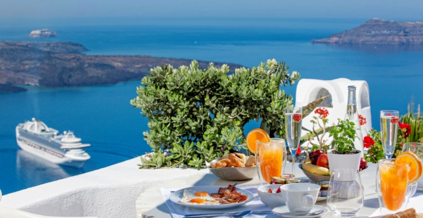 food, greece, greek, santorini