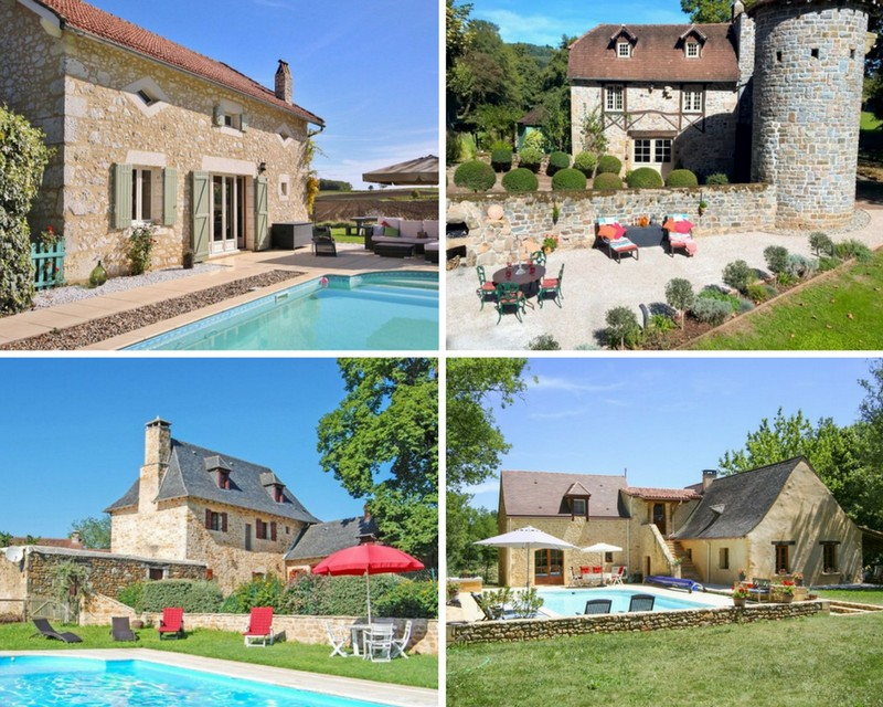 Lovely holiday homes in France on Clickstay