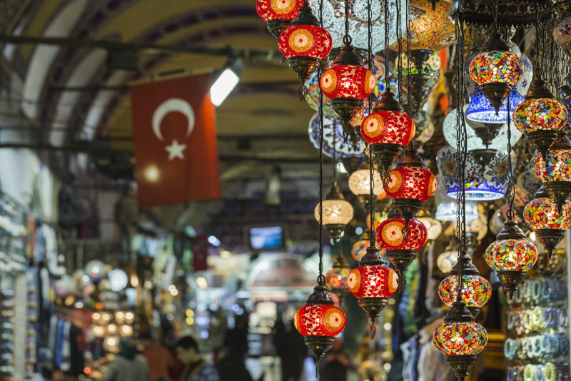 Grand Bazaar Market Turkey