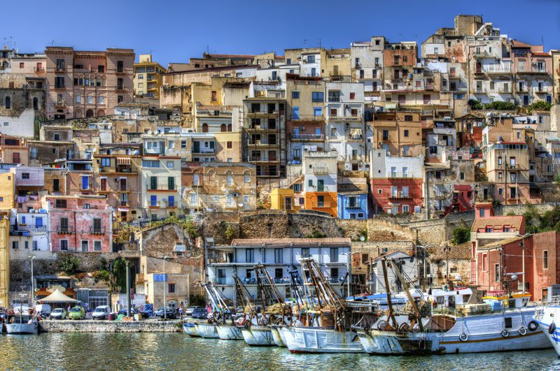 harbour of Sciacca, Sicily