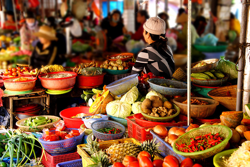 Food Stall in Hoi An