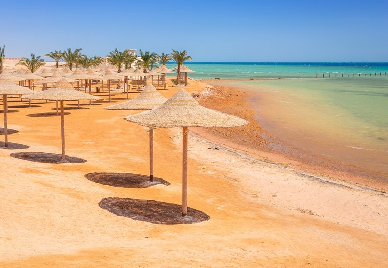 Beach in Hurghada