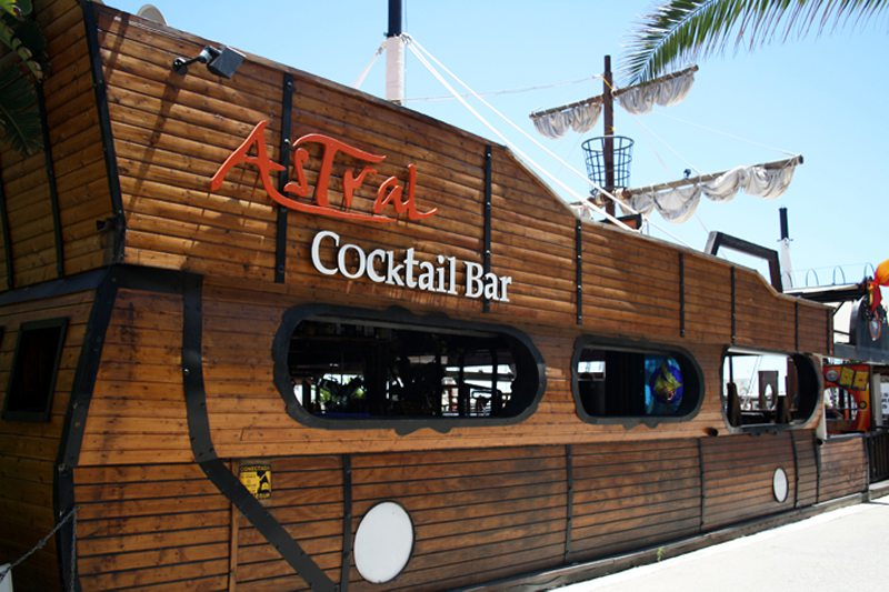 Astral Cocktail Bar in Marbella