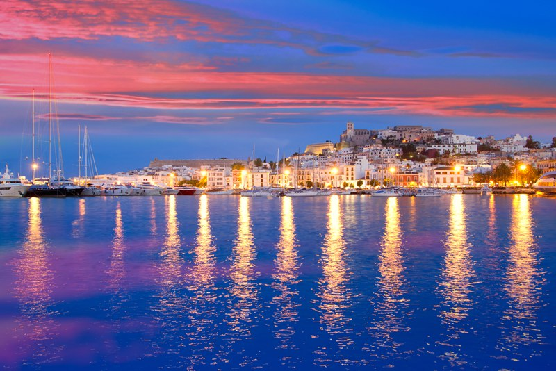 Ibiza Night time