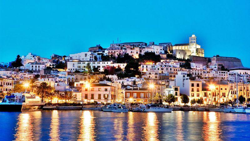 Ibiza Town Spain