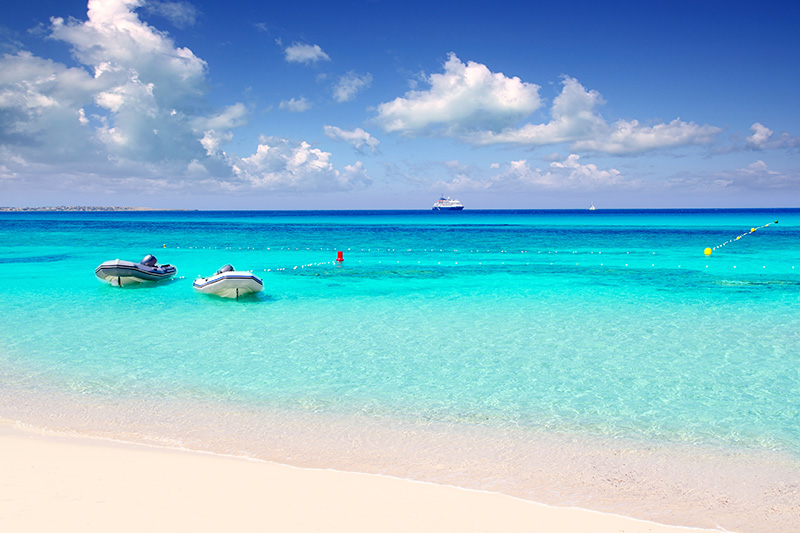 Formentera in Balearic Islands