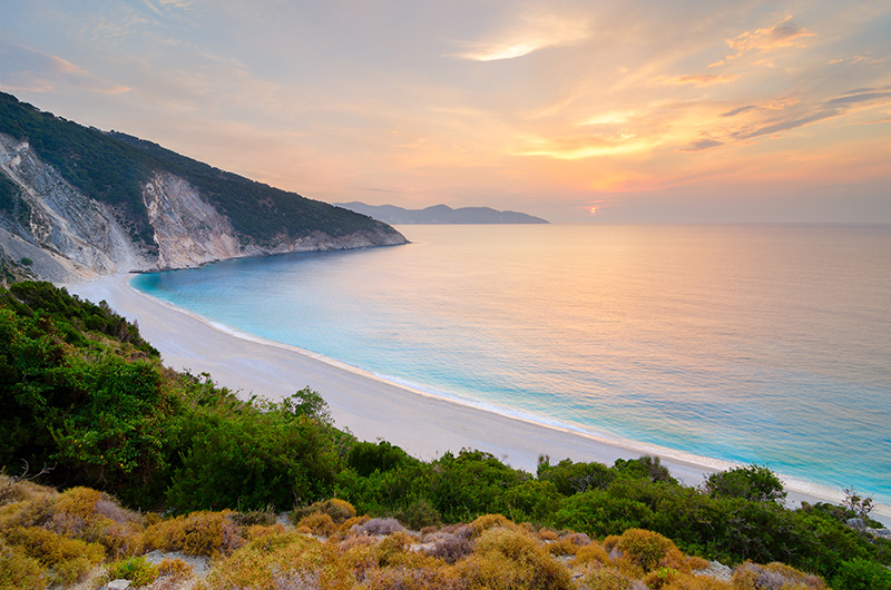 Ionian island of Kefalonia, Greece