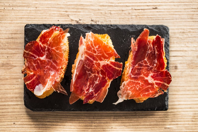 Jamon Iberico Cured Ham Spain