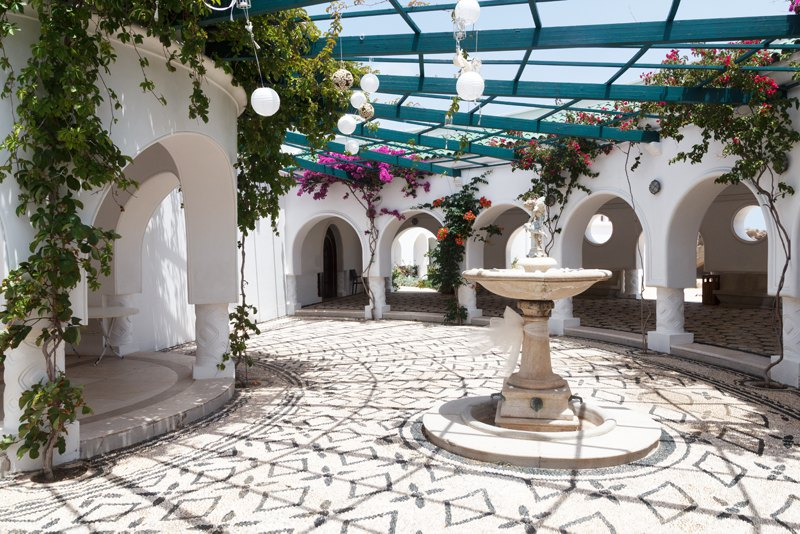 Kallithea Springs in Rhodes