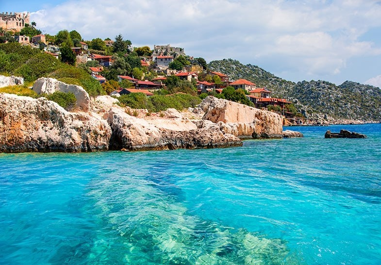 Kekova island Turkey
