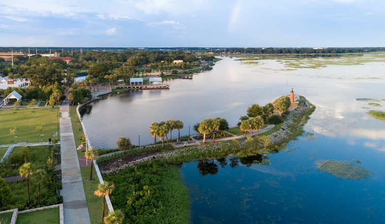 Kissimmee Lakes in Florida