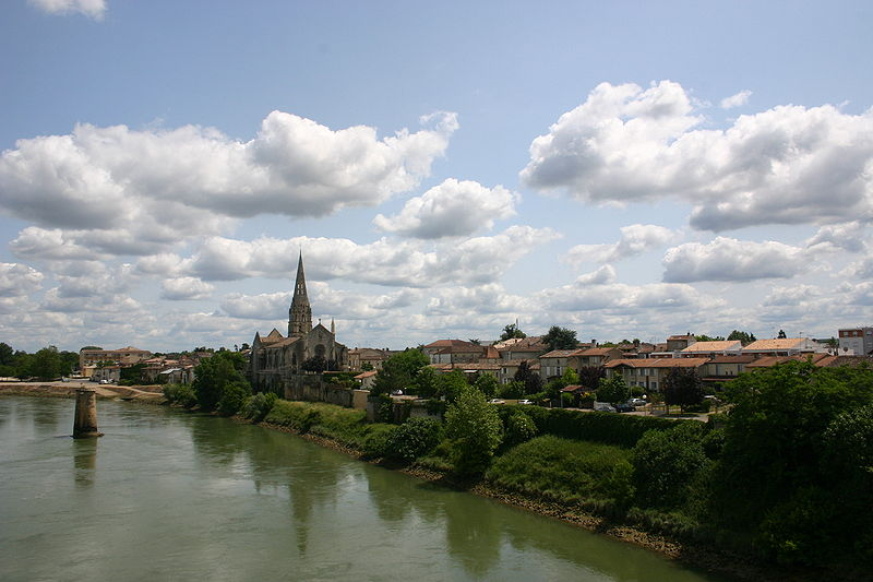 Langon in France