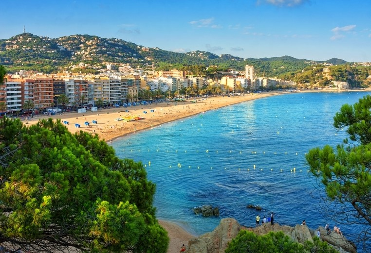 Lloret de Mar, Costa Brava in Spain