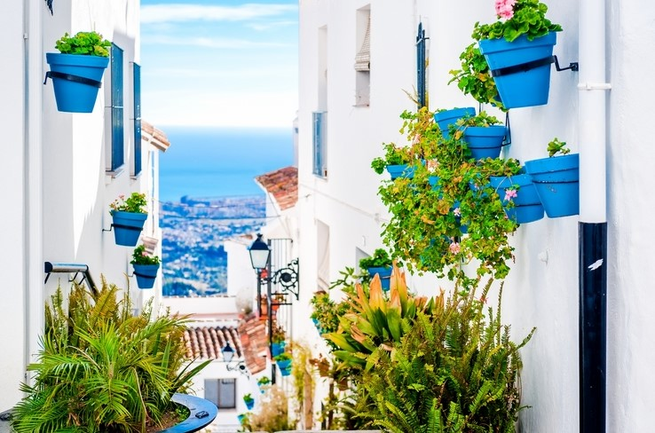 Mijas, Costa del Sol, Spain