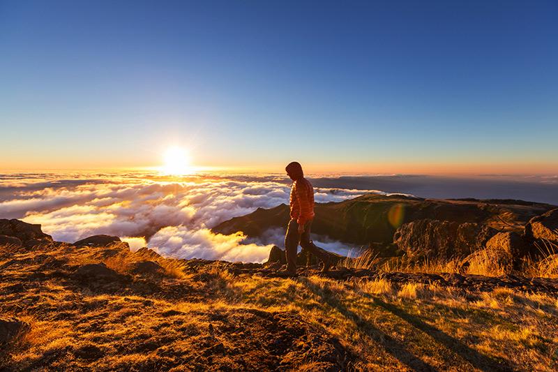 Mountain peaks Madeira