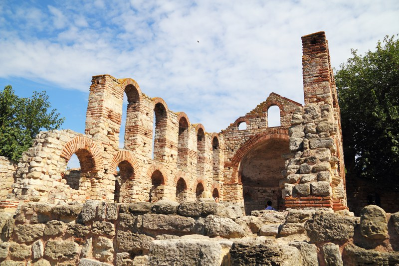 Nesebar is an ancient city on the Black Sea coast of Bulgaria.