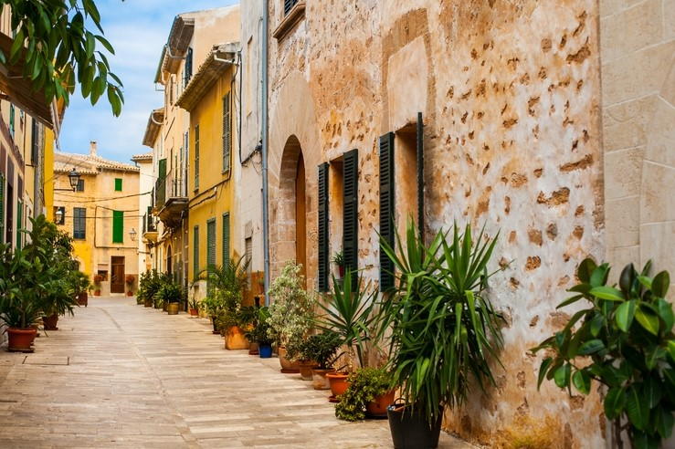 Old town Alcudia, Majorca