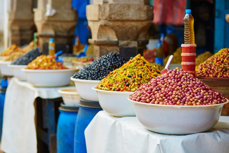 olives from the market Essaouira