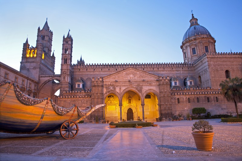 Palermo cathedral architecture Sicily