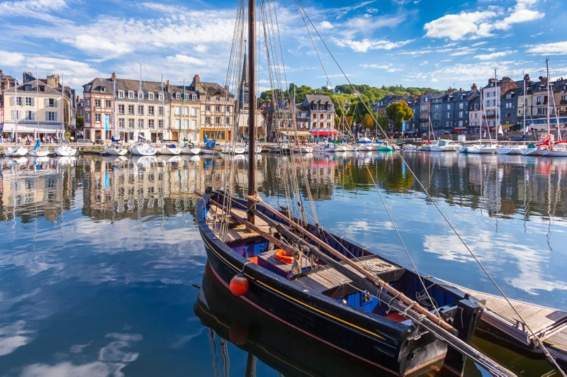 Port of Honfleur, Normandy