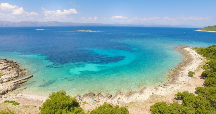 Proizd Beach in Croatia