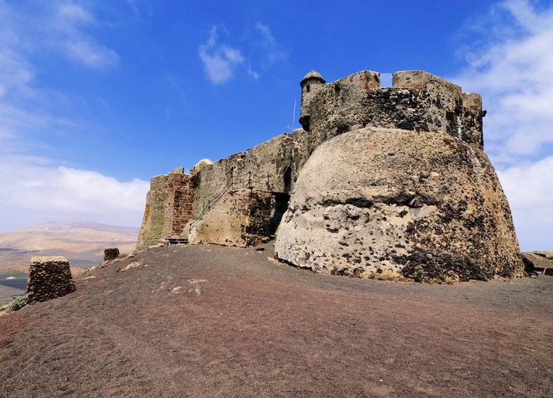 Santa Barbara Castle Canary Islands