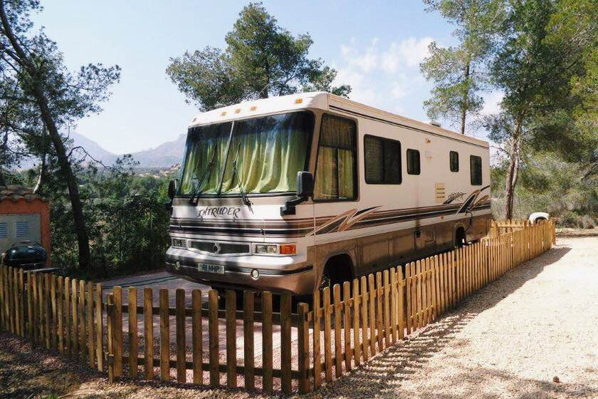 Static RV to rent in Benidorm, Spain