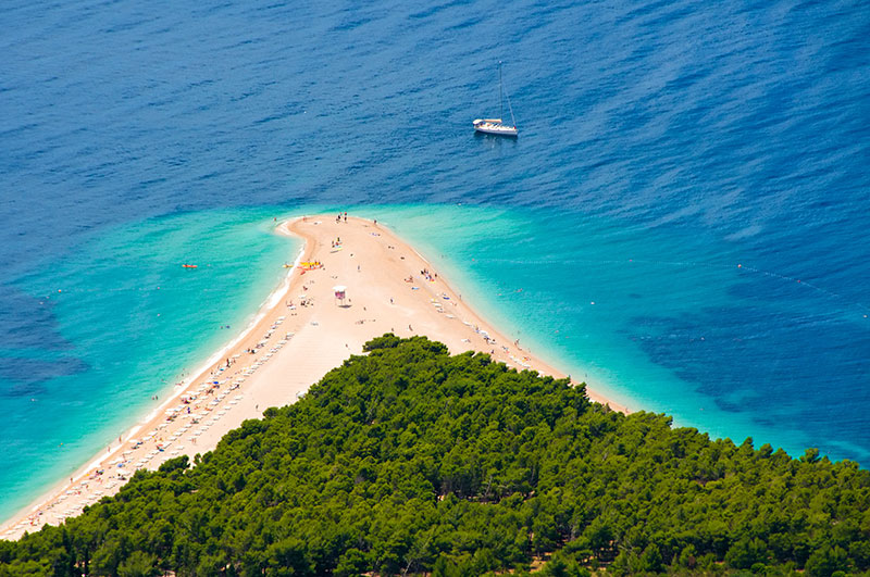 Rat Beach, Croatia