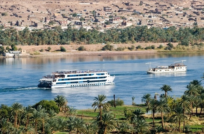 River Nile tourist boat cruise