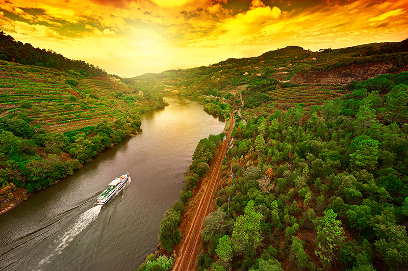 Douro river Portugal