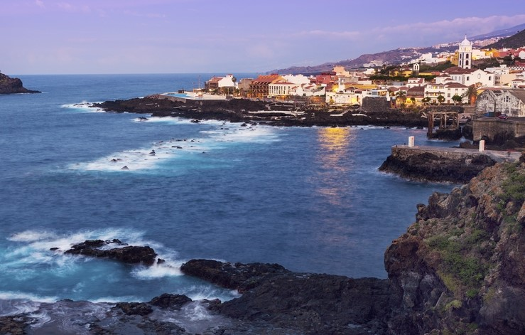 Garachico's rock pools, Tenerife