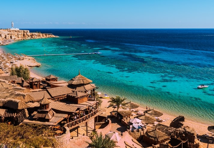 Sharm El Sheikh in Egypt