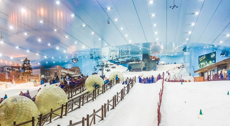 Dubai Ski Mall Snow