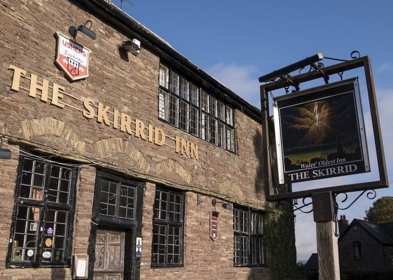 The Skirrid Pub in the Breacon Beacons