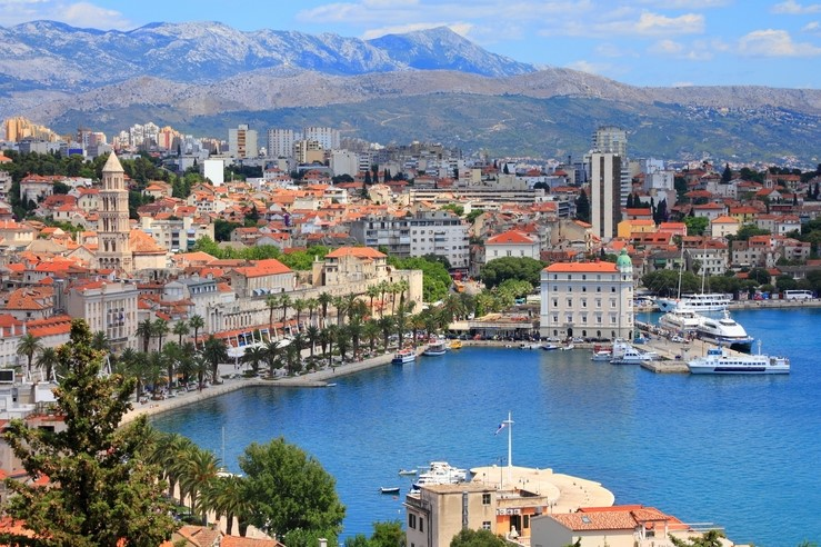 Split, Croatia (region of Dalmatia). UNESCO World Heritage Site