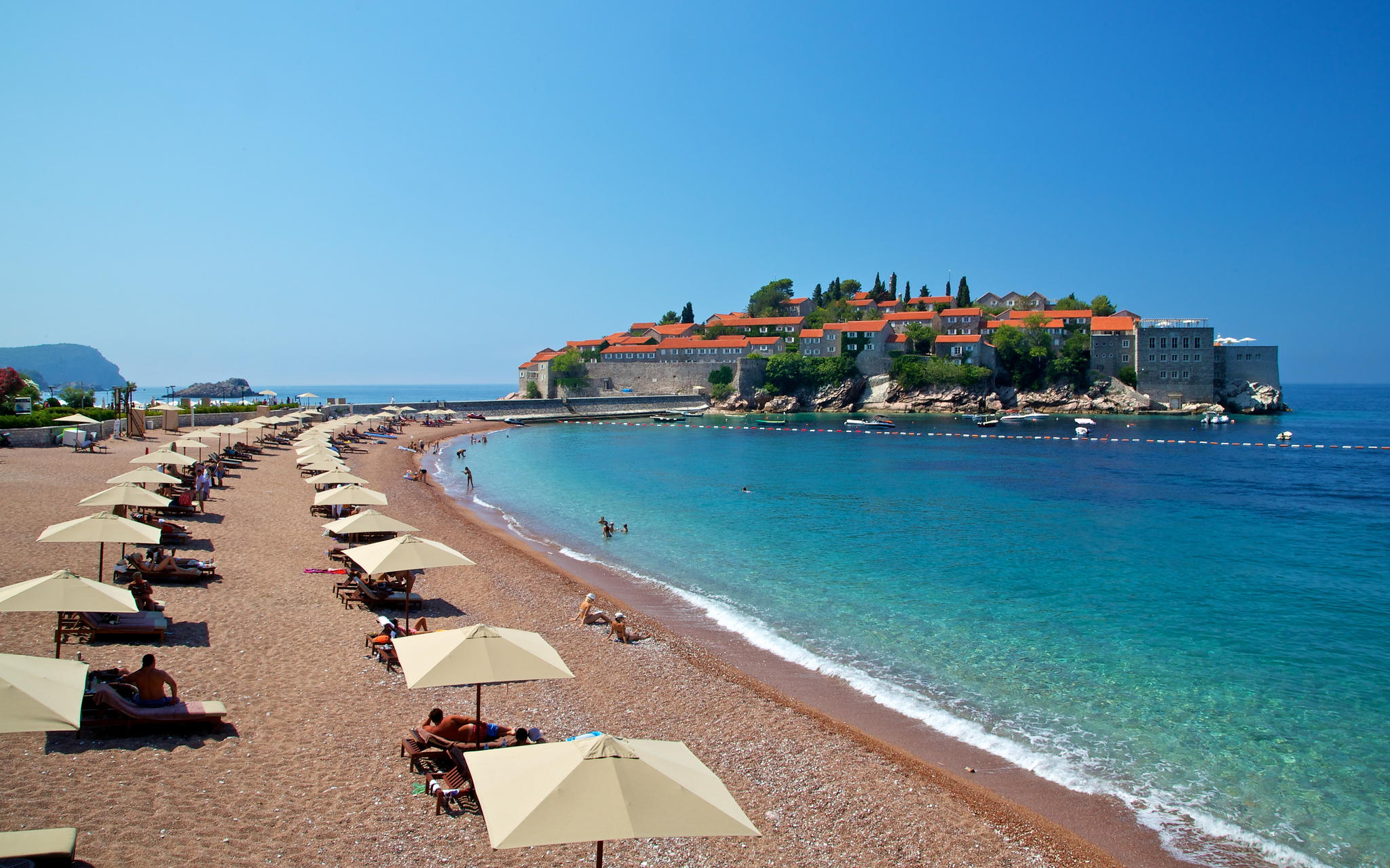 Beaches in Montenegro