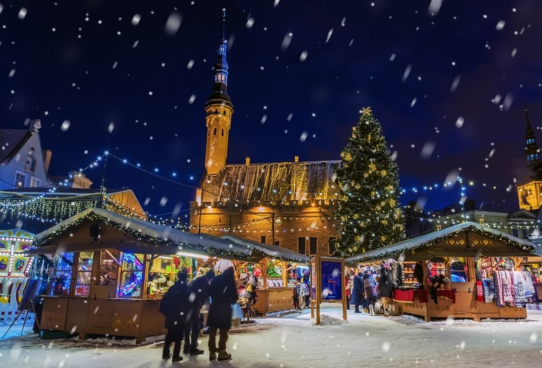 Tallinn at Christmas