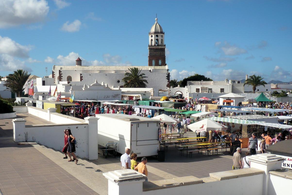 Teguise market Lanzarote