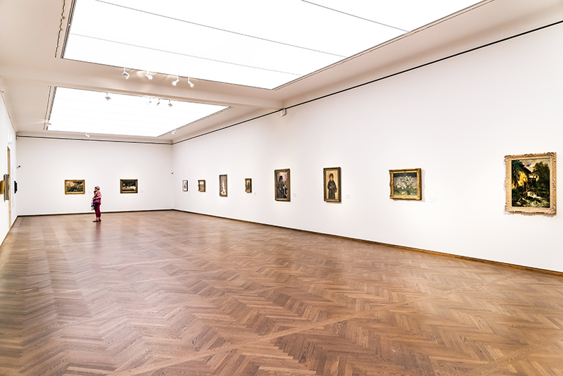 The Leopold Museum, housed in the Museumsquartier in Vienna is home to one of the largest collections of modern Austrian art.