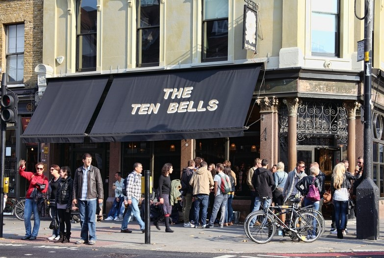 The Ten Bells in Shoreditch
