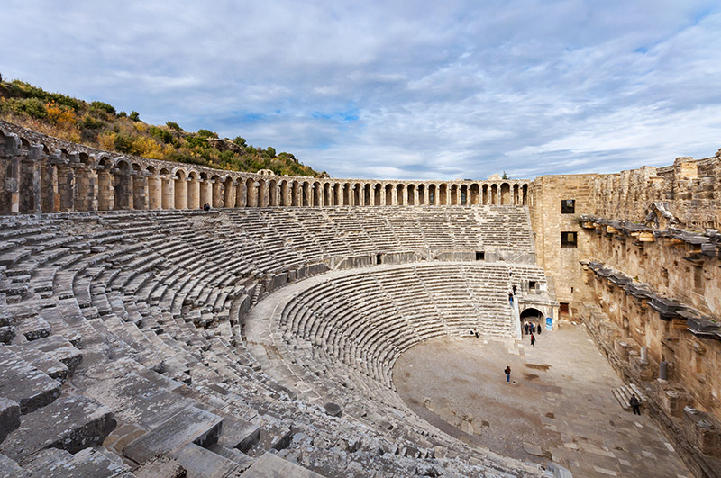 The Theatre of Aspendos Ancient City, Antalya