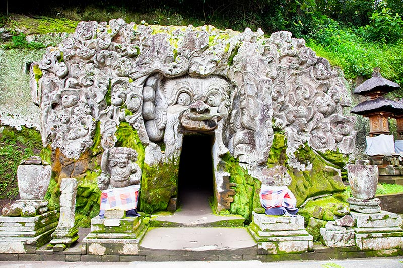 The elephant cave, Bali