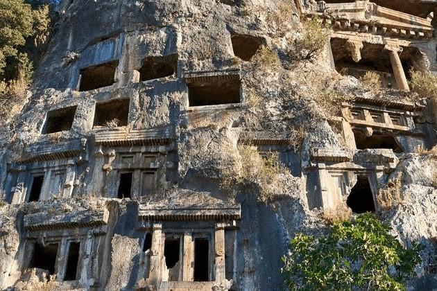 Tomb of Amyntas, Turkey