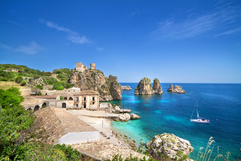 Tonnara di Scopello in Sicily
