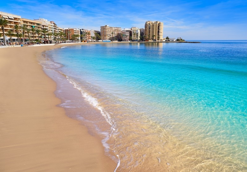 Torrevieja in Spain