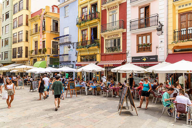 Restaurants in Valencia