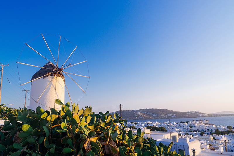 Windmills in Cyclades