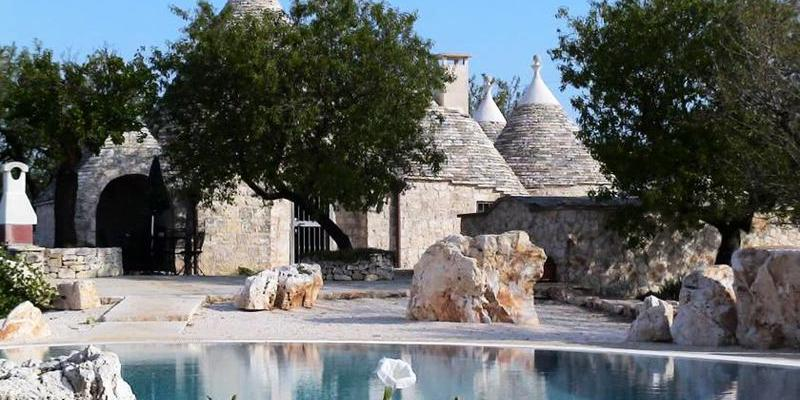 traditional trullo in Apulia, Italy