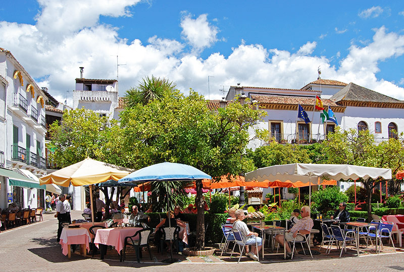 Plaza de los Naranja in Spain